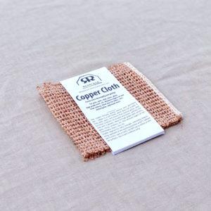 Copper cloth - Lavete de cupru, lavabile, de durata, ecologice, fara plastic