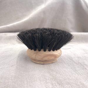 Perie de rezerva pentru spalat vase, 5cm, moale, din lemn si par de cal. Biodegradabila si compostabila.