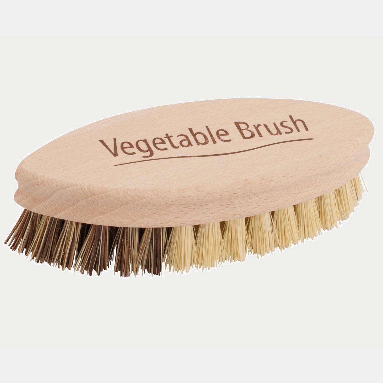 Perie naturală pentru curățat legume.
