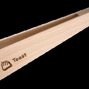 Cleste din lemn pentru toast
